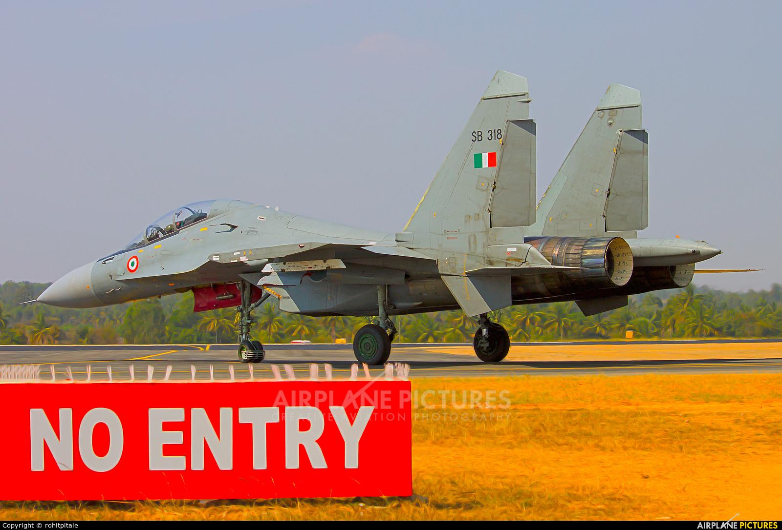 India - Air Force SB318 aircraft at Yelahanka AFB