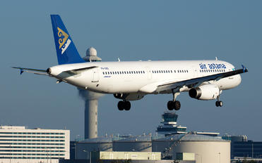 P4-OAS - Air Astana Airbus A321