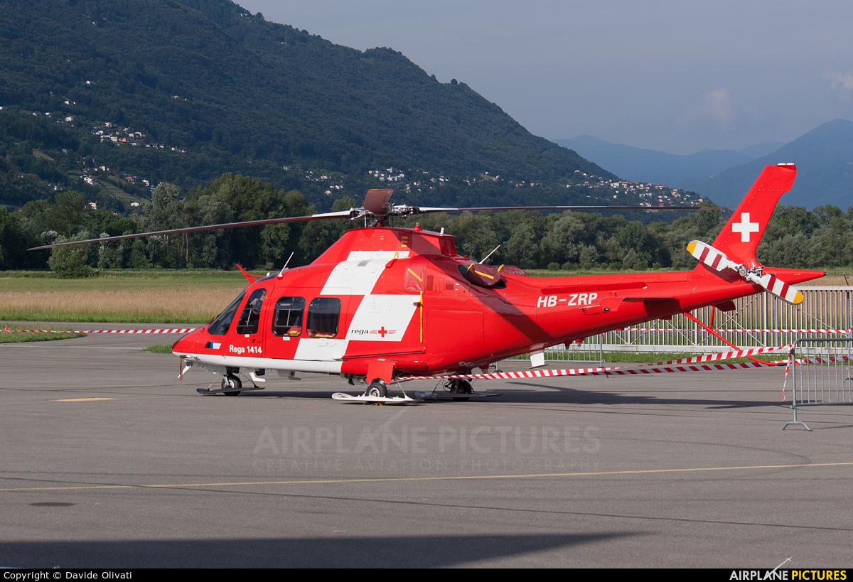 REGA Swiss Air Ambulance  HB-ZRP aircraft at Locarno