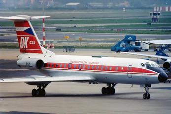 OK-DFI - CSA - Czech Airlines Tupolev Tu-134A