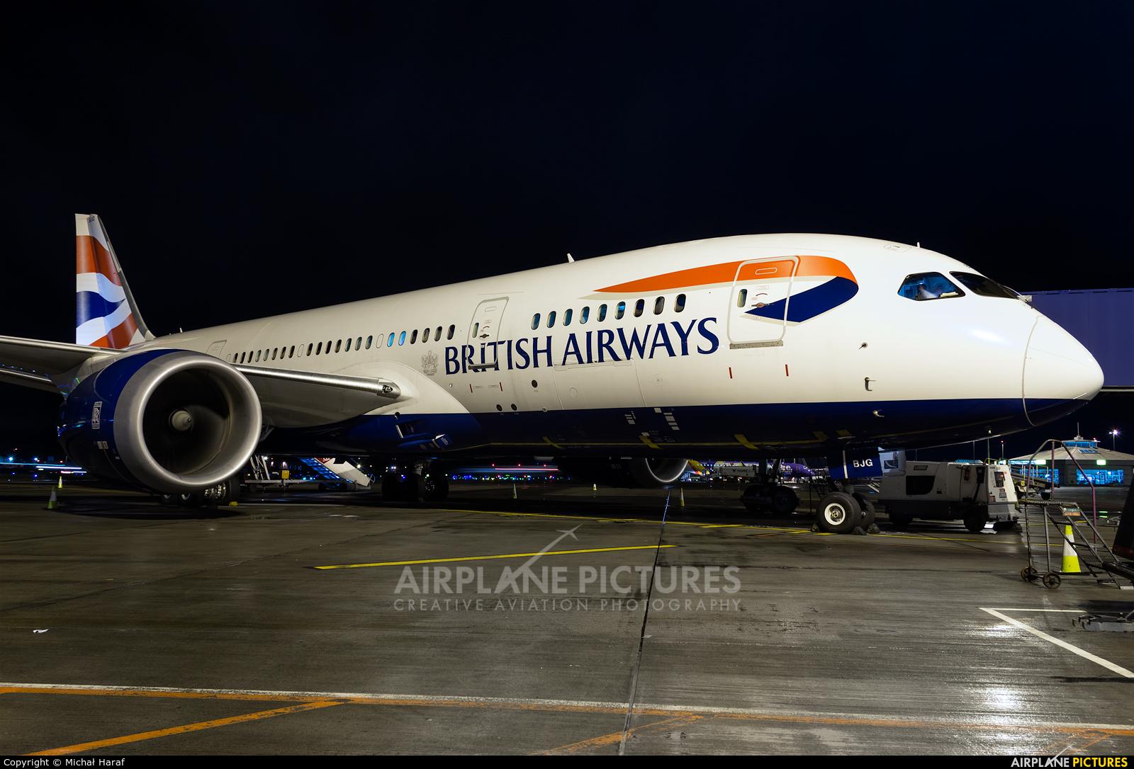 British Airways G-ZBJG aircraft at Dublin