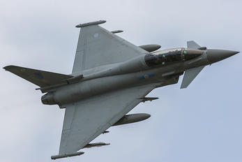 ZJ809 - Royal Air Force Eurofighter Typhoon T.3