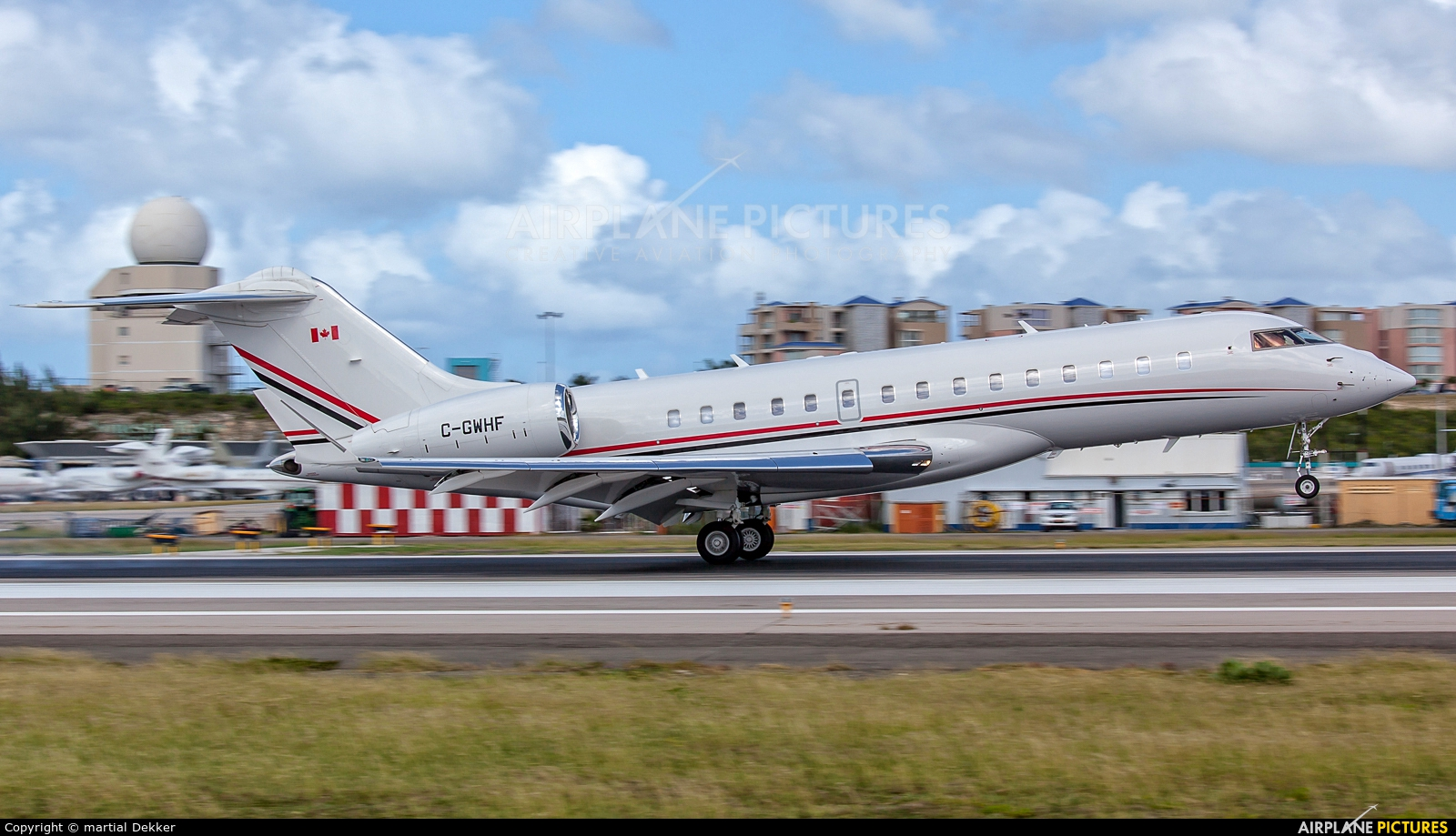 Skyservice Business Aviation C-GWHF aircraft at Sint Maarten - Princess Juliana Intl