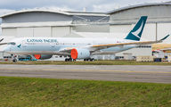 F-WZFX - Cathay Pacific Airbus A350-900 aircraft