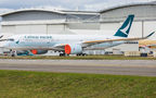 Cathay Pacific Airbus A350-900 F-WZFX at Toulouse - Blagnac airport