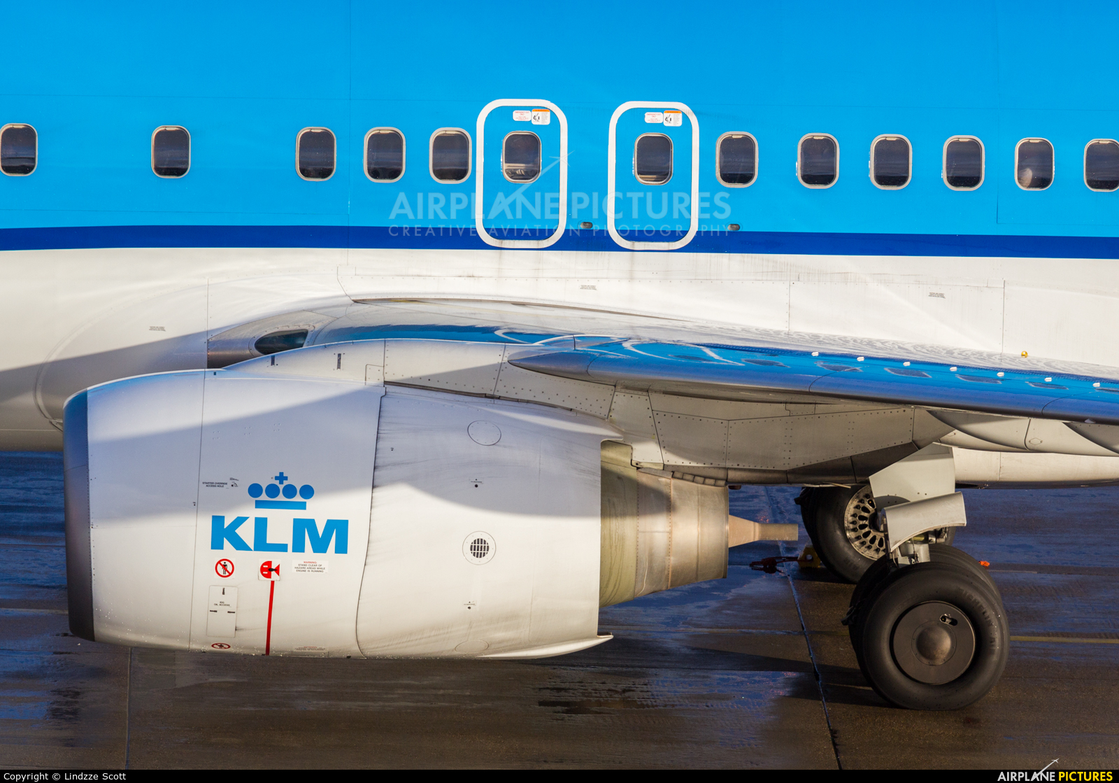 KLM PH-BXW aircraft at Amsterdam - Schiphol