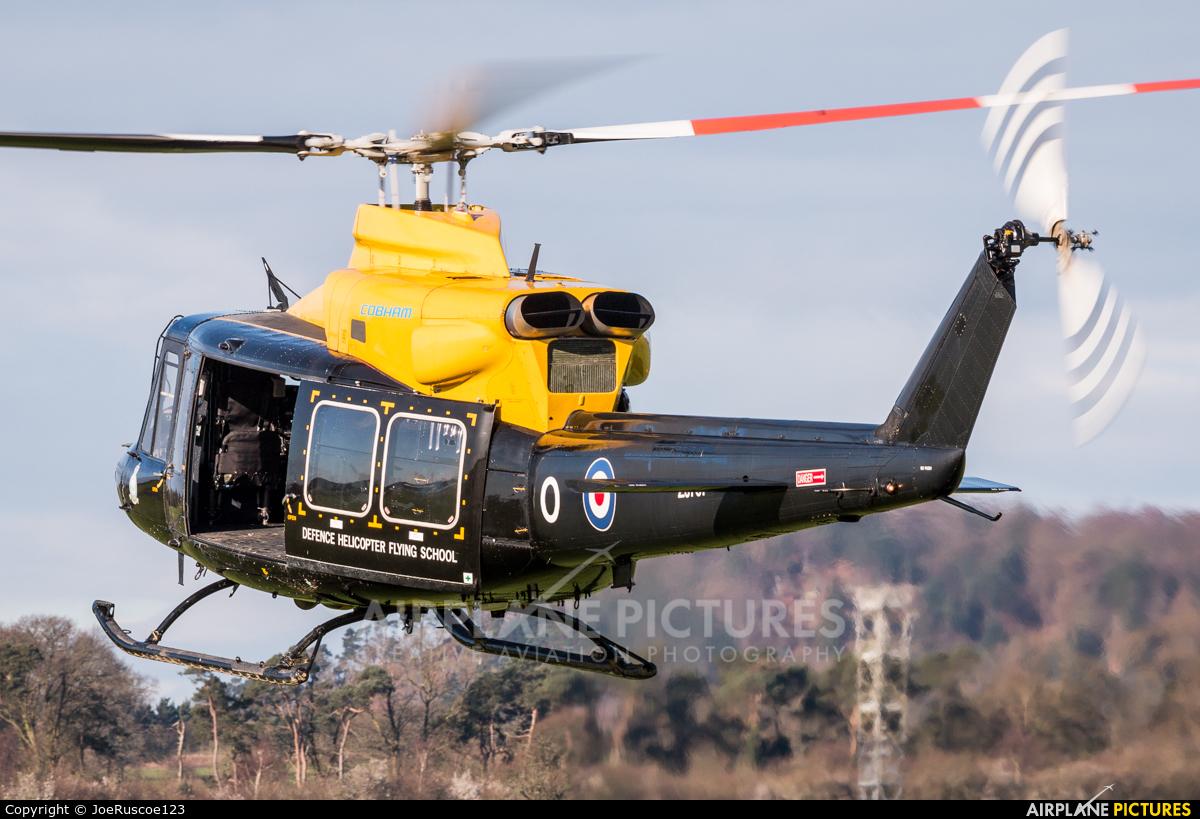 Royal Air Force ZJ707 aircraft at Shawbury