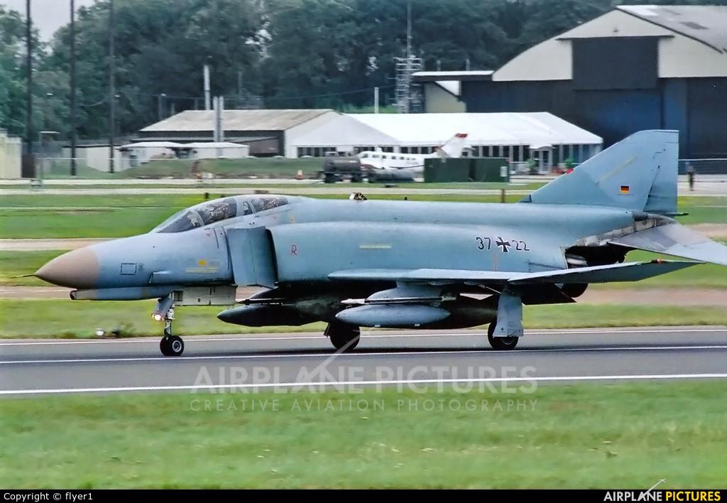 Germany - Air Force 37+22 aircraft at Fairford