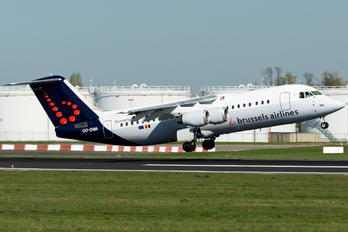 OO-DWA - Brussels Airlines British Aerospace BAe 146-300/Avro RJ100