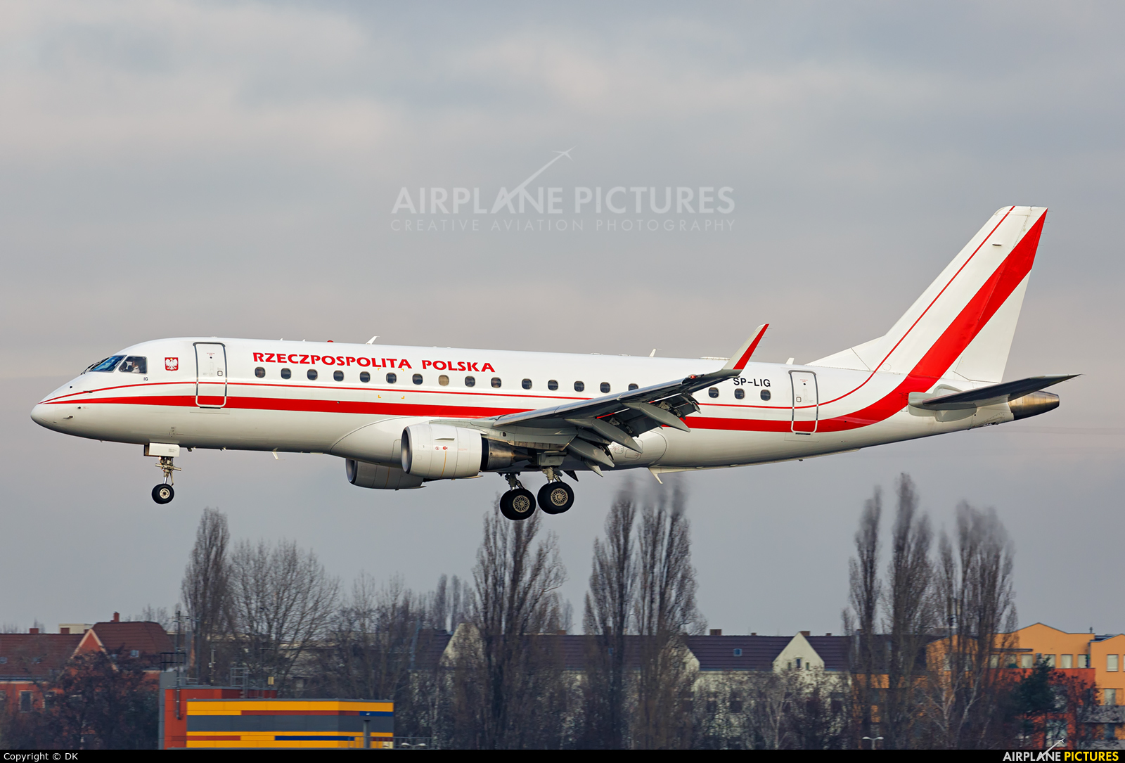 Poland - Government SP-LIG aircraft at Berlin - Tegel