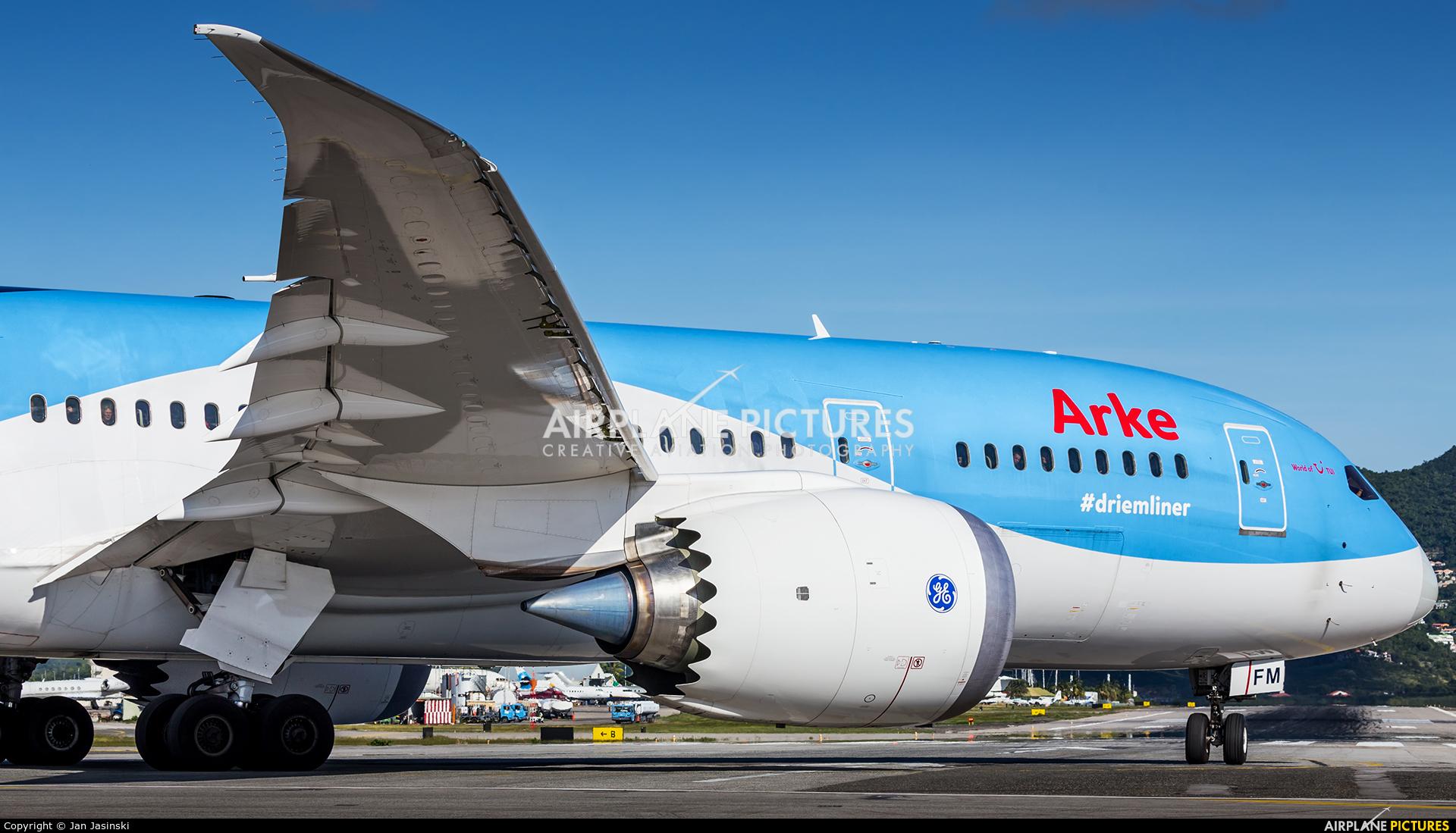 Arke/Arkefly PH-TFM aircraft at Sint Maarten - Princess Juliana Intl