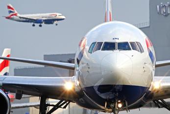 G-BNWA - British Airways Boeing 767-300