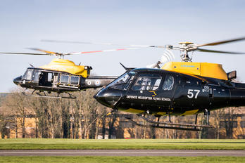 ZJ257 - Royal Air Force Aerospatiale AS350 Squirrel HT.1 & 2