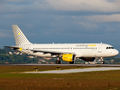 Vueling Airlines Airbus A320 EC-LAA at La Coruña airport