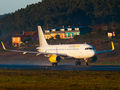 Vueling Airlines Airbus A320 EC-LUO at La Coruña airport