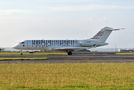 Private Bombardier BD-700 Global Express C-GCDS at Auckland Intl airport