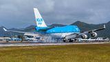 KLM Asia Boeing 747-400 PH-BFY at Sint Maarten - Princess Juliana Intl airport