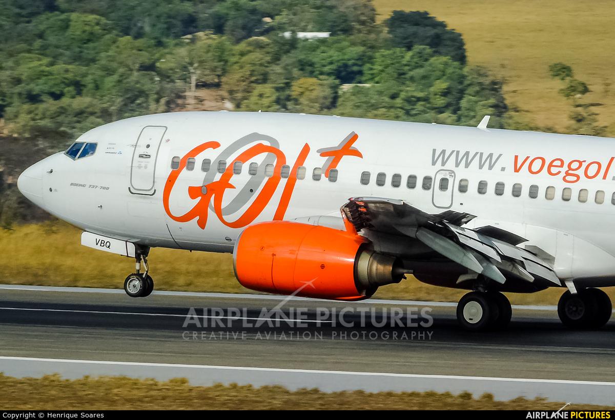 GOL Transportes Aéreos  PR-VBQ aircraft at Belo Horizonte - Tancredo Neves