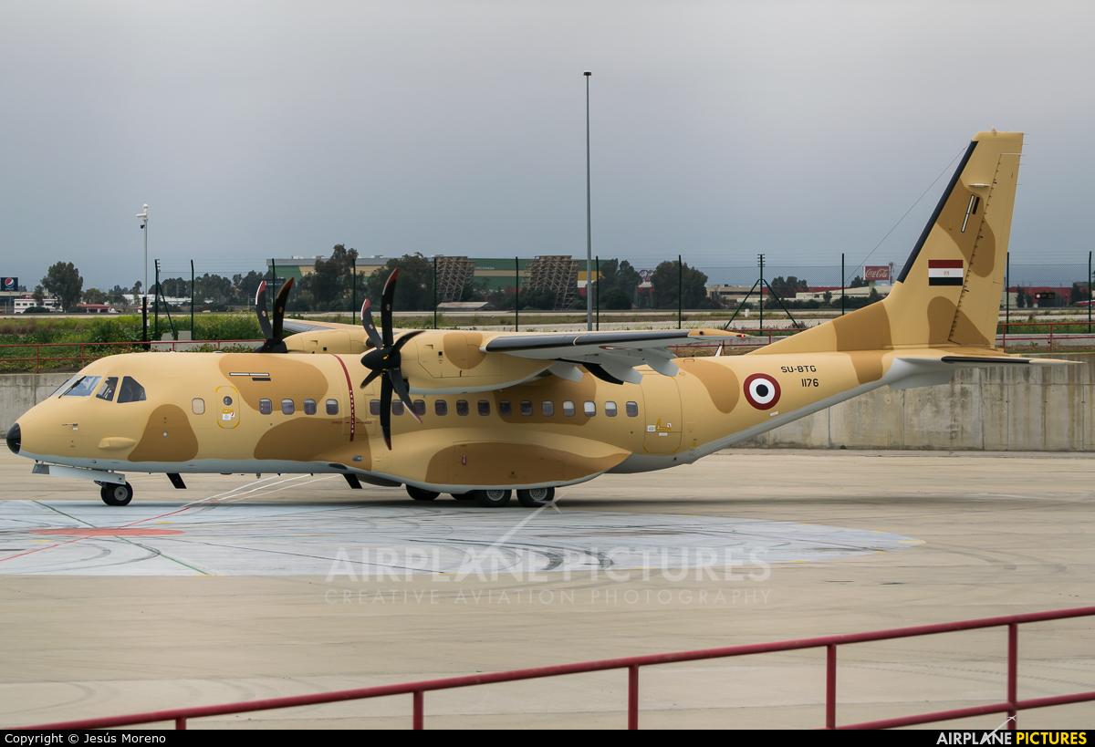 Egypt - Air Force SU-BTG aircraft at Seville - San Pablo