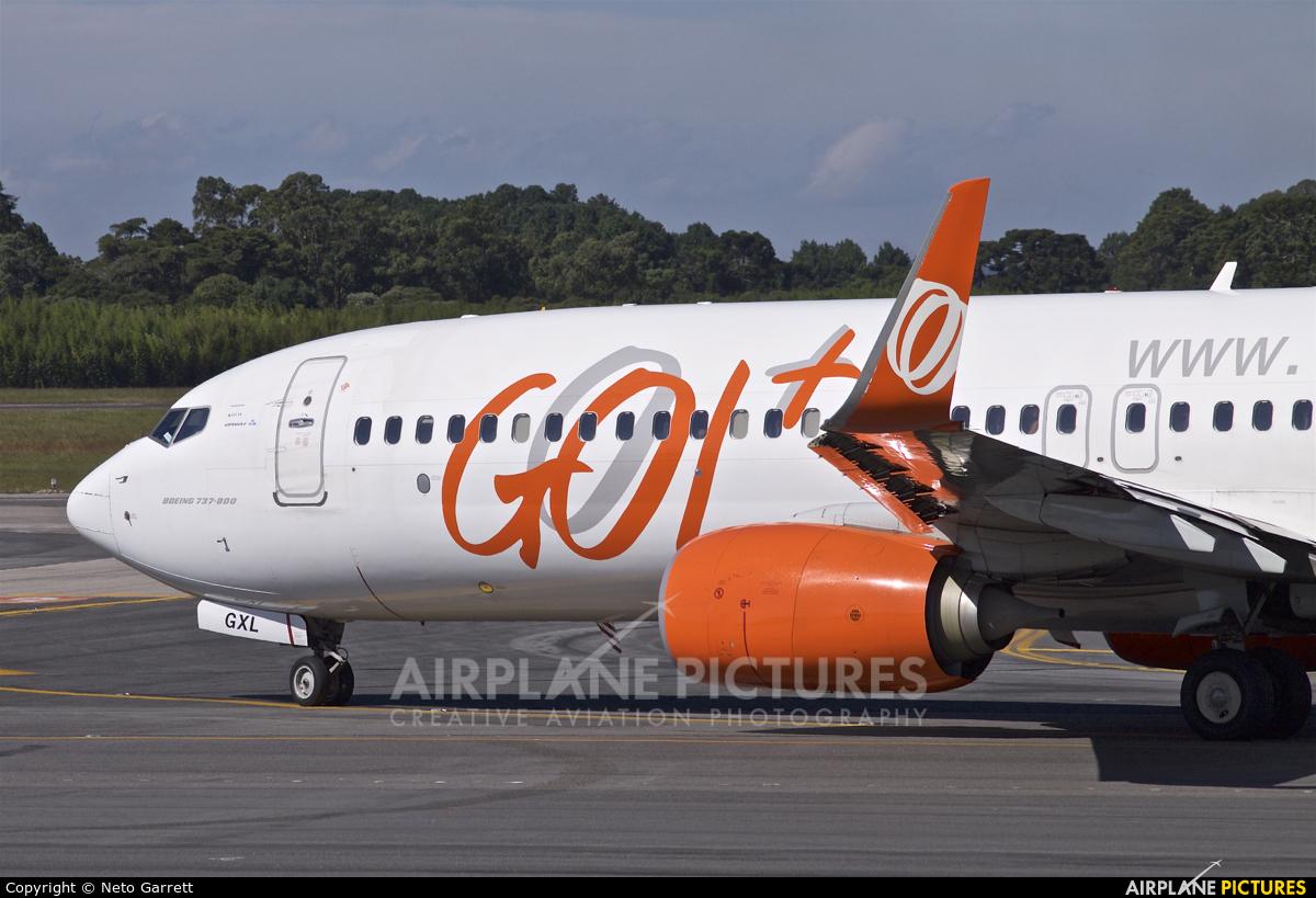 GOL Transportes Aéreos  PR-GXL aircraft at Curitiba -  Afonso Pena