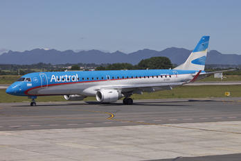 LV-CEV - Austral Lineas Aereas Embraer ERJ-190 (190-100)