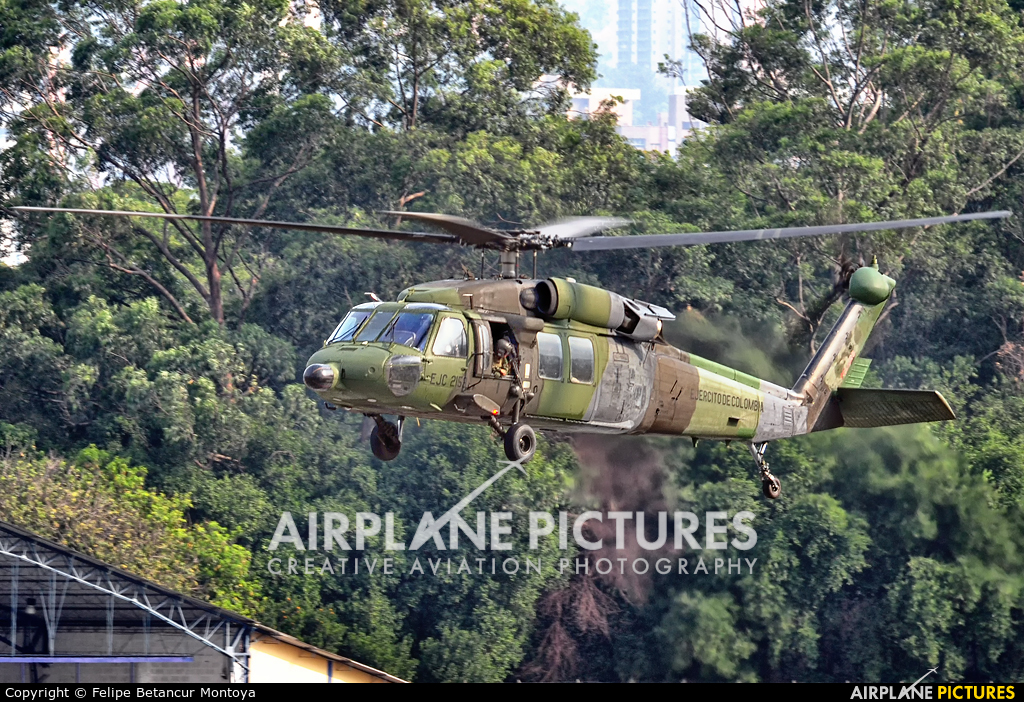 Colombia - Army EJC-2156 aircraft at Medellin - Olaya Herrera