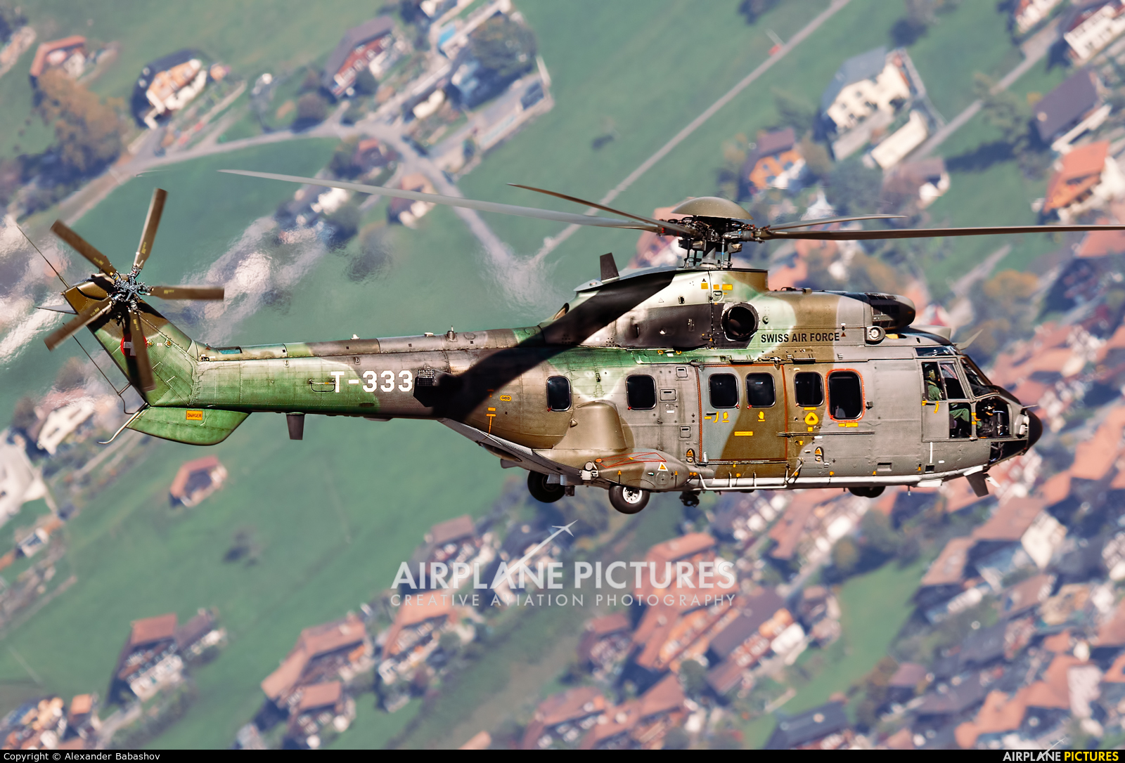 Switzerland - Air Force Aerospatiale AS532 Cougar T-333