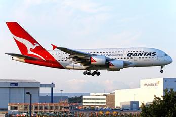 VH-OQL - QANTAS Airbus A380