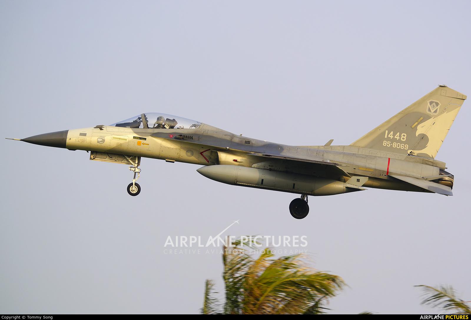Taiwan - Air Force 1448 aircraft at Tainan Airport