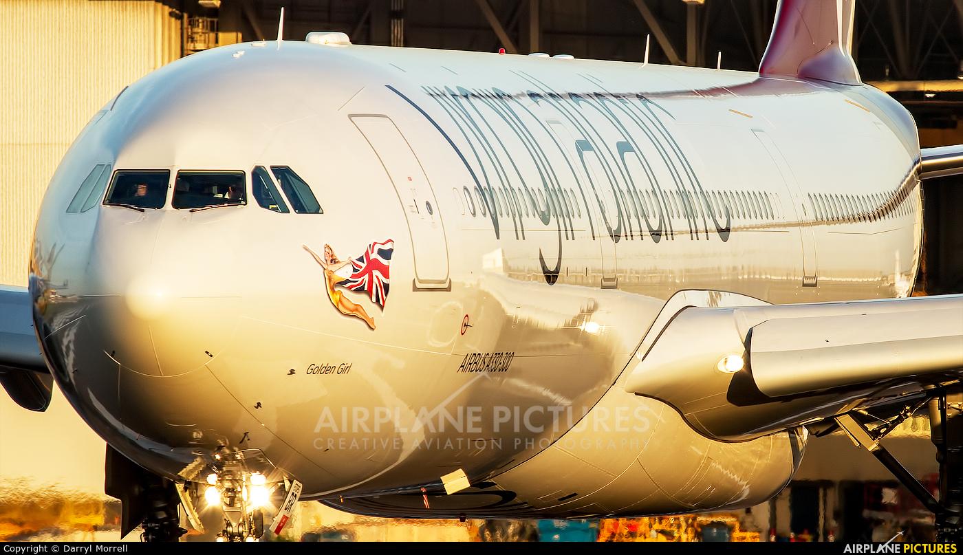Virgin Atlantic G-VGBR aircraft at London - Heathrow