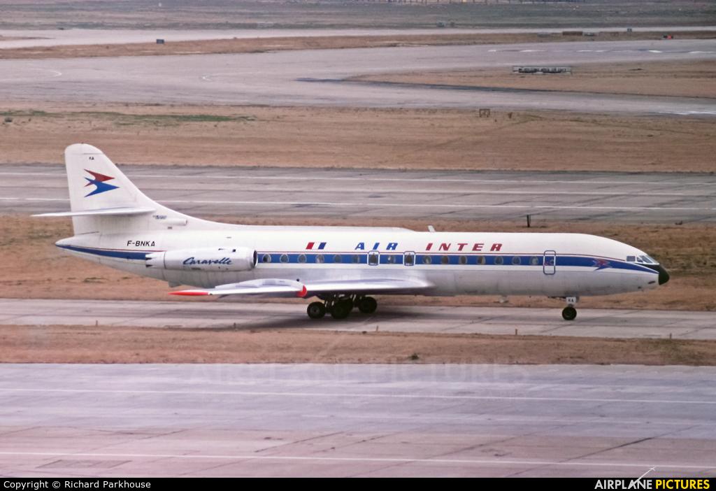 Air Inter F-BNKA aircraft at London - Heathrow