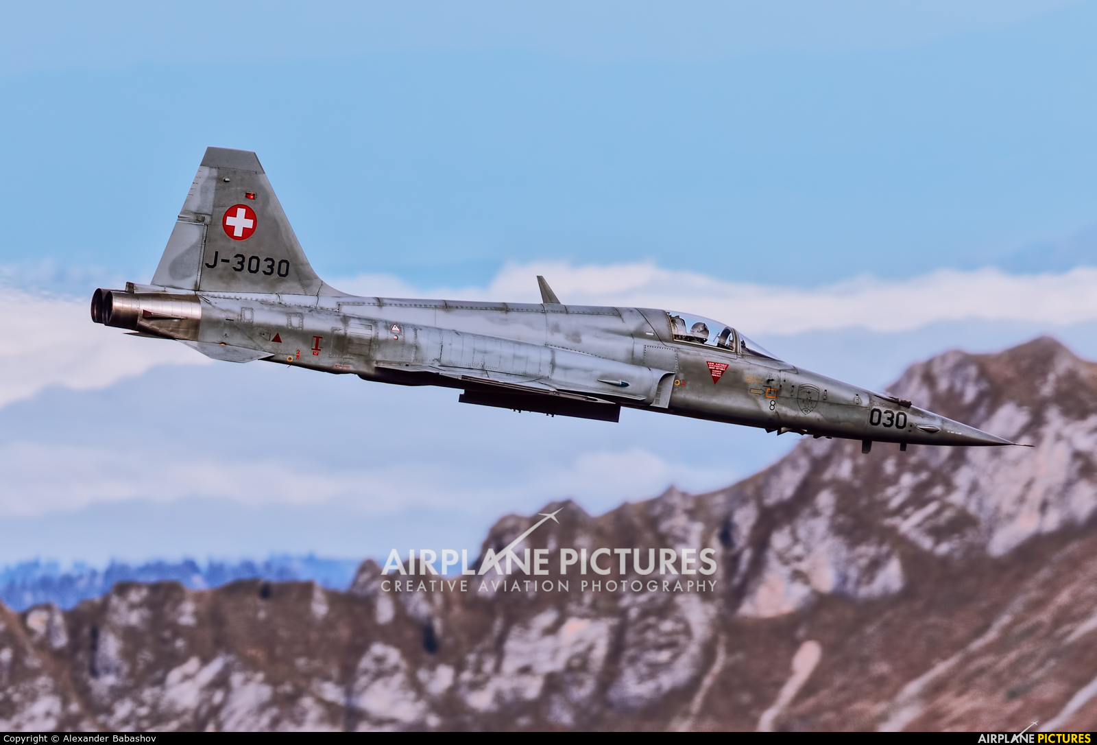 Switzerland - Air Force Northrop F-5E Tiger II J-3030