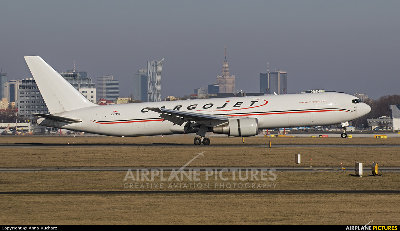 Cargojet Airways C-FPIJ aircraft at Warsaw - Frederic Chopin