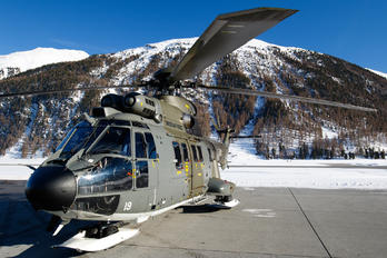 T-319 - Switzerland - Air Force Aerospatiale AS332 Super Puma