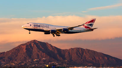 G-CIVK - British Airways Boeing 747-400