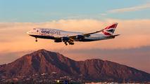 G-CIVK - British Airways Boeing 747-400 aircraft
