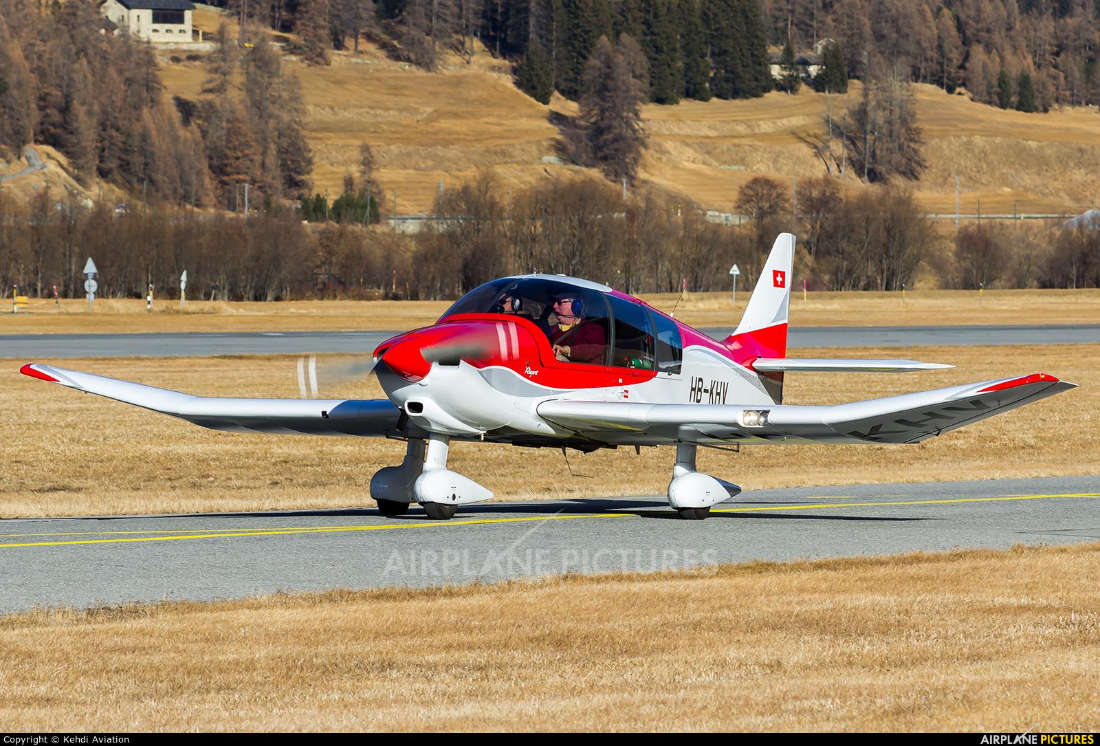 Private HB-KHV aircraft at Samedan - Engadin