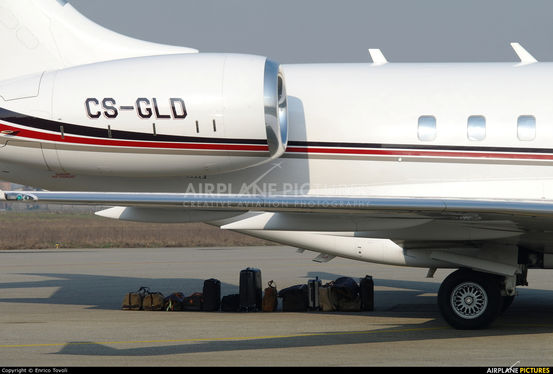 NetJets Europe (Portugal) CS-GLD aircraft at Parma
