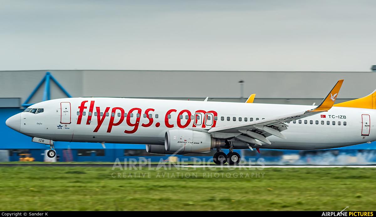 Pegasus TC-IZB aircraft at Amsterdam - Schiphol