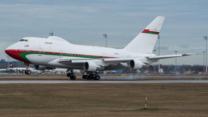 A4O-SO - Oman - Royal Flight Boeing 747SP