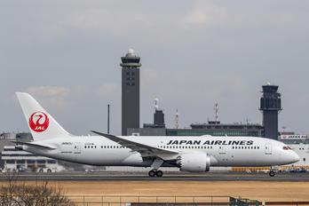 JA843J - JAL - Japan Airlines Boeing 787-8 Dreamliner