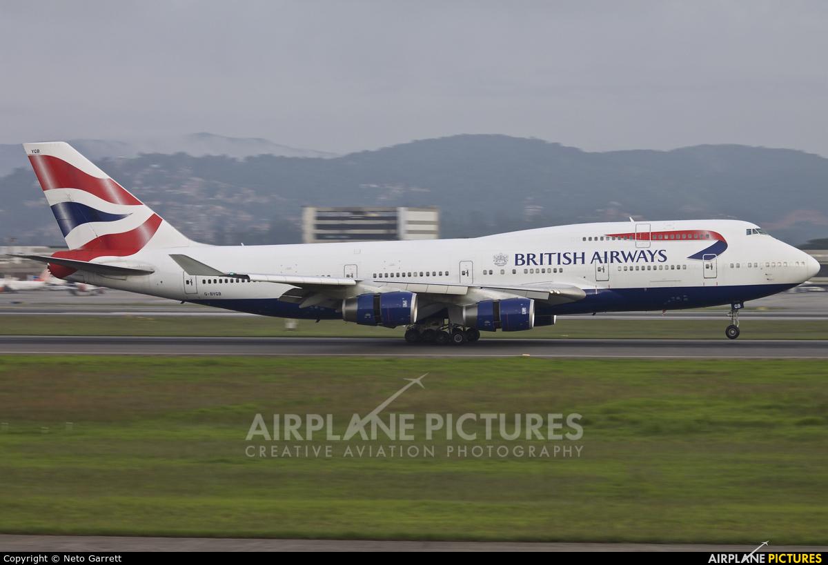 British Airways G-BYGB aircraft at São Paulo - Guarulhos