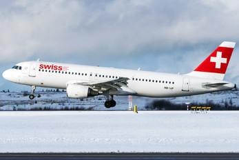HB-IJF - Swiss Airbus A320