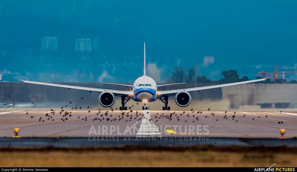 China Airlines B-18052 aircraft at Frankfurt