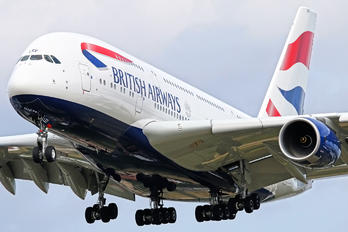 G-XLEF - British Airways Airbus A380