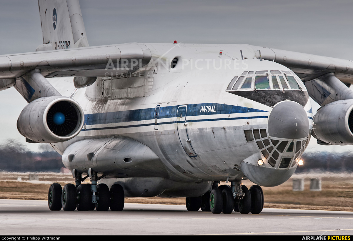 Russia - Air Force RA-78838 aircraft at Munich