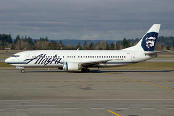 N755AS - Alaska Airlines Boeing 737-400
