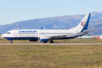 VQ-BFY - Orenair Boeing 737-800