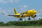 N641NK - Spirit Airlines Airbus A320 aircraft