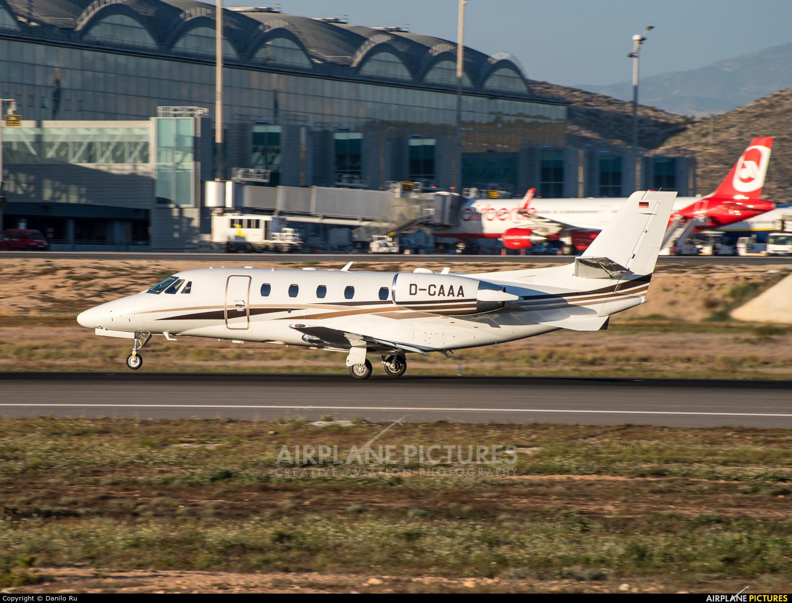 DC Aviation D-CAAA aircraft at Alicante - El Altet